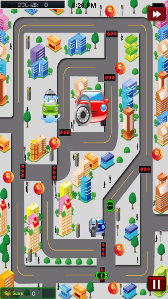 City Traffic Cars HD PRO screenshot 4