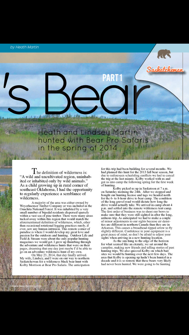 Bear Hunting Magazine screenshot 3