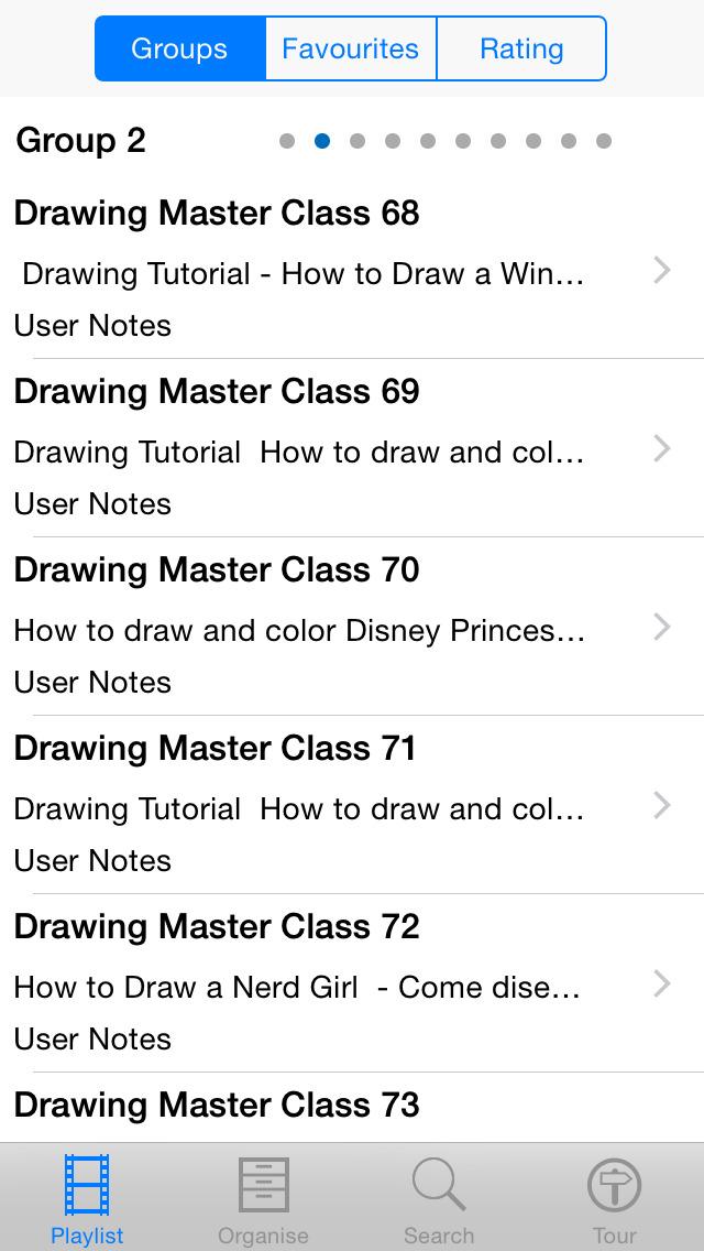 Drawing Master Class screenshot 2