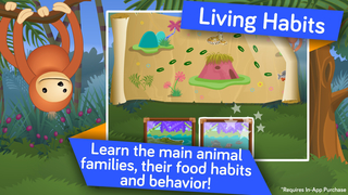 Animals ! Life science educational and learning games for kids in Preschool and Kindergarten by i Learn With screenshot 4