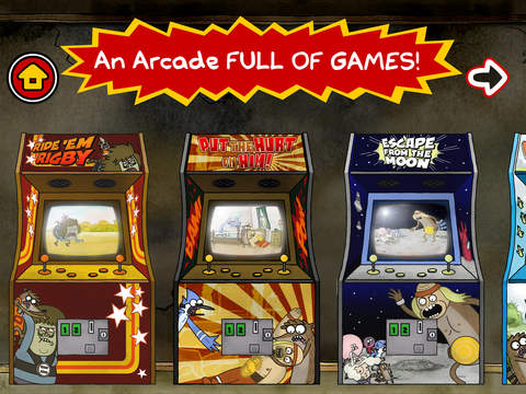 Just a Regular Arcade – A Sweet Suite of Regular Show Games With Mordecai and Rigby screenshot 6