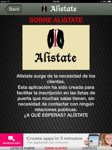Alistate - Discotecas Málaga- Las mejores Salas screenshot 9