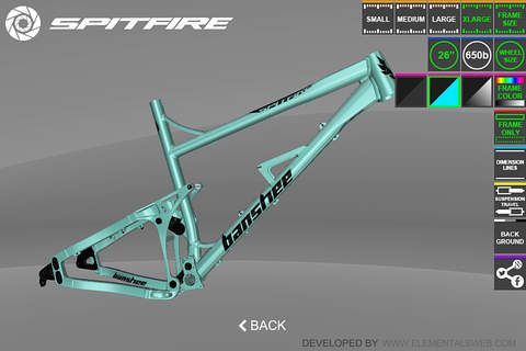 Banshee Bikes Virtual 3D - náhled