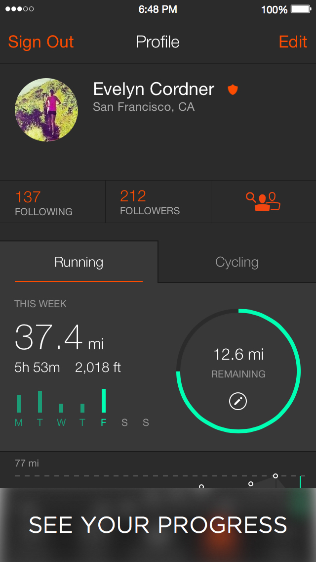 Strava: Run, Ride, Swim screenshot 3