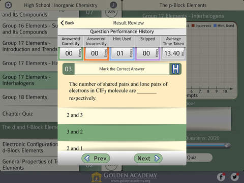 High School : Inorganic Chemistry FREE screenshot 10