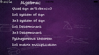 Formulae Calculator screenshot 2