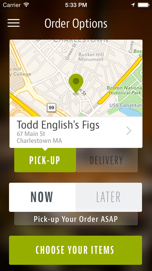 Todd English's Figs screenshot 2
