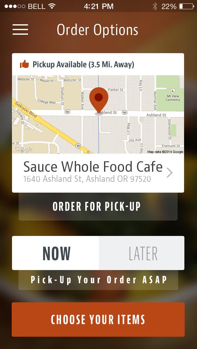 Sauce Whole Food Cafe screenshot 2
