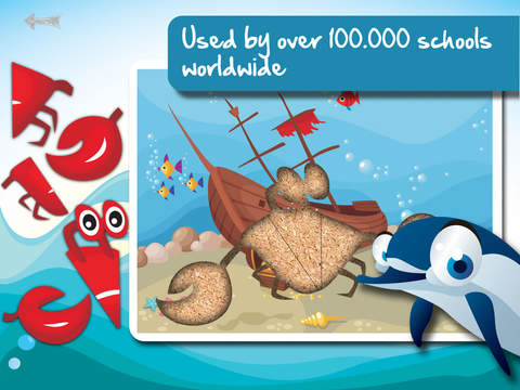 Free Sealife Cartoon Jigsaw Puzzle screenshot 8