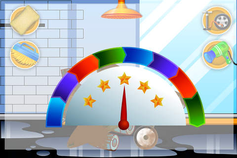 Plane wash – Kids auto salon washing game and repa - náhled