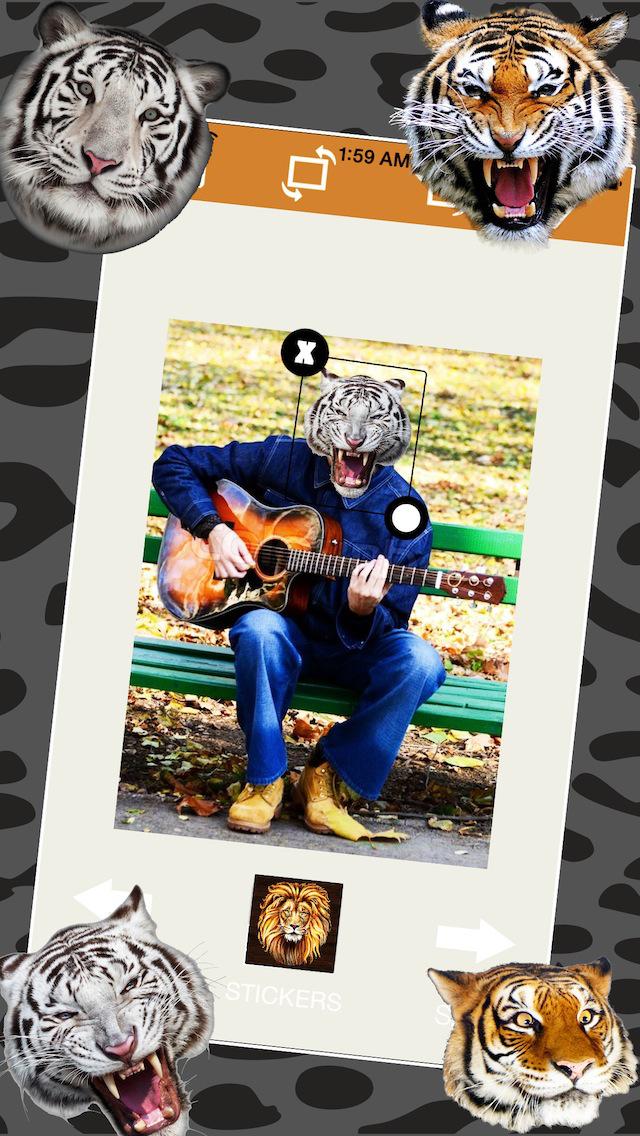 Tiger Sticker Fun screenshot 4
