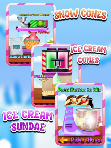 """ A AmazeBalls Candy Froyo Maker – Customer Frozen Yogurt Creator Free screenshot 10"