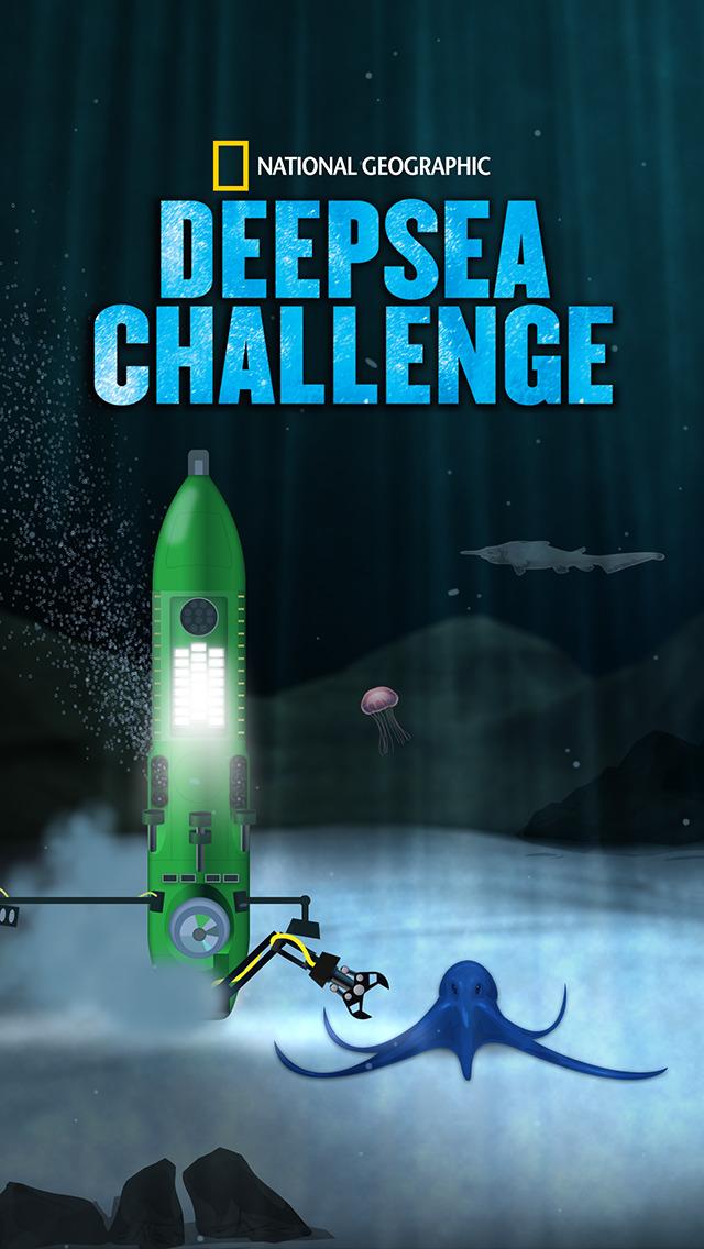 National Geographic's DEEPSEA CHALLENGE screenshot 1