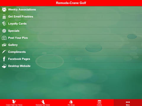 Remuda Crane Field Golf - náhled