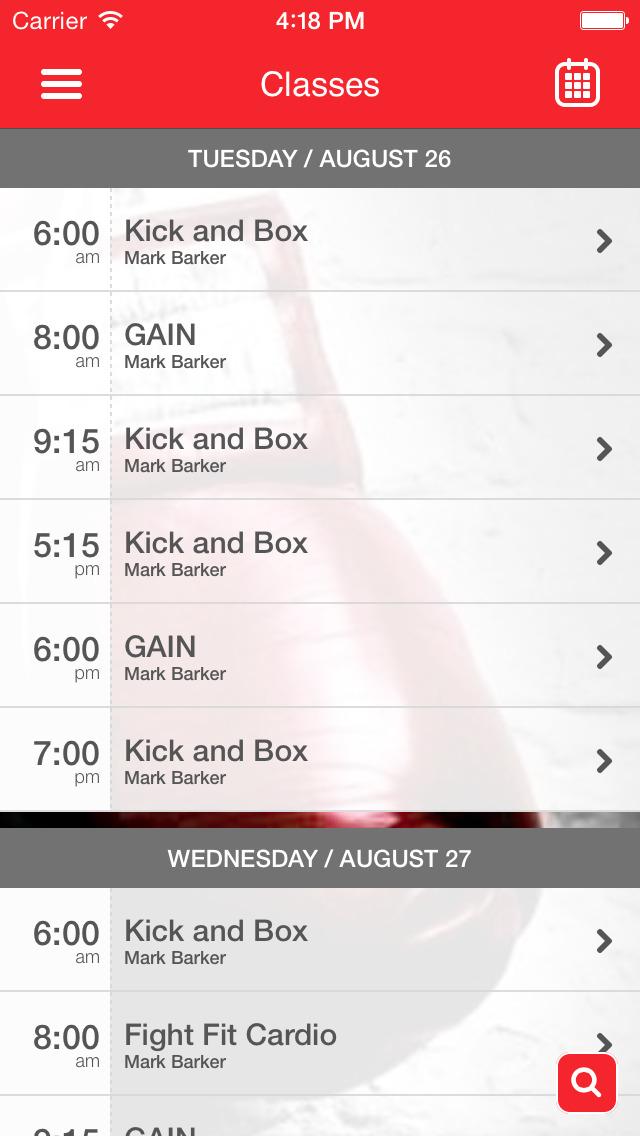 RAW Kickboxing & Fitness screenshot #2