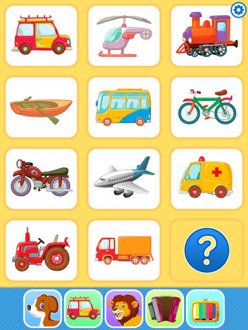 Baby Flash Cards Games & Kids Animal Sounds Free screenshot 7