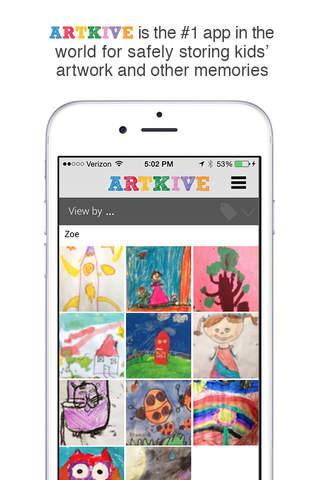 Artkive - Save Kids' Art - náhled
