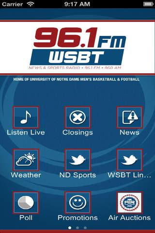 96.1FM 960AM WSBT Talk Radio - náhled