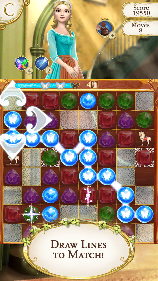 Cinderella Free Fall screenshot 1