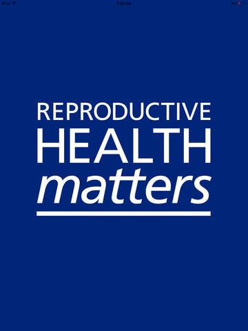 Reproductive Health Matters screenshot 6
