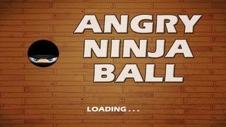 Angry Ninja Ball Escape Plus screenshot 1