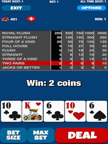 Poker Queen - Video Pocker Machine Game screenshot 7