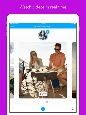 Glide - Live Video Messenger screenshot 7