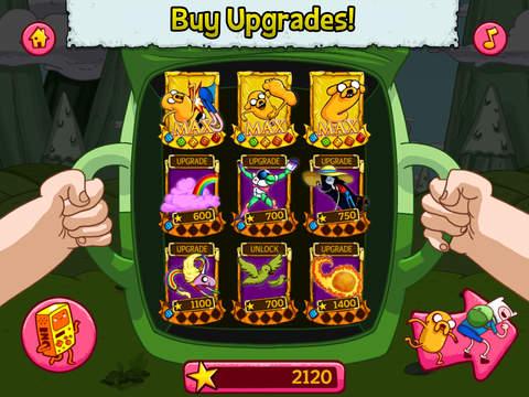 Jumping Finn Turbo - Adventure Time Launcher Game screenshot 10