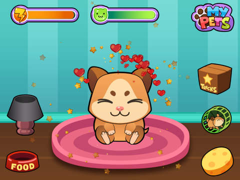 My Virtual Hamster ~ Pet Mouse Game for Kids, Boys and Girls screenshot #2