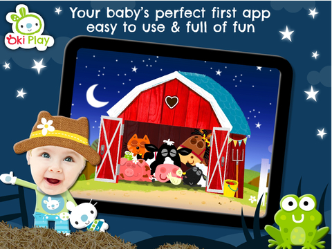 Peek a Boo Farm Animals Sounds screenshot 10