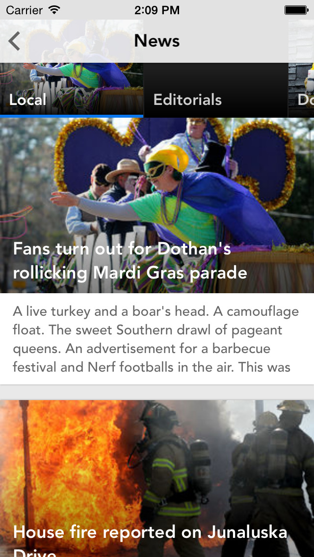 Transition: Dothan Eagle Mobile News screenshot 2