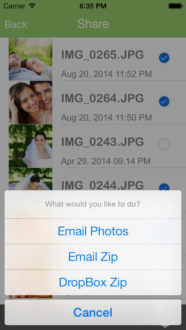 Private Photo + InstaMail Share Multiple Photos & Videos screenshot 3