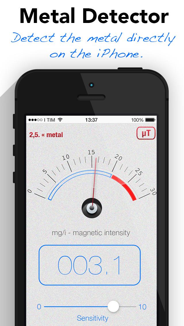 Metal Detector and Magnetometer - Find silver gold screenshot 1