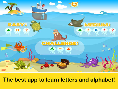 Letter quiz • Alphabet School & ABC Games 4 Kids screenshot 10