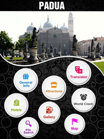 Padua City Offline Travel Guide screenshot 7