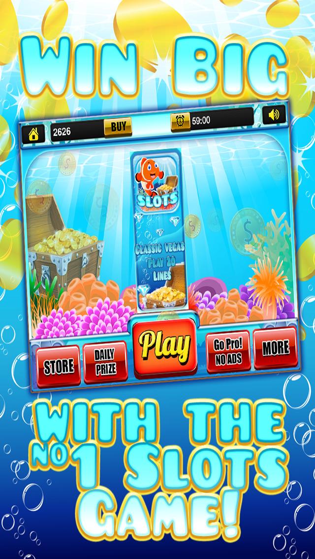 Ace Rich Fish Casino Slots - Lucky Jackpot Prize Wheel Slot Machine Games HD screenshot 1