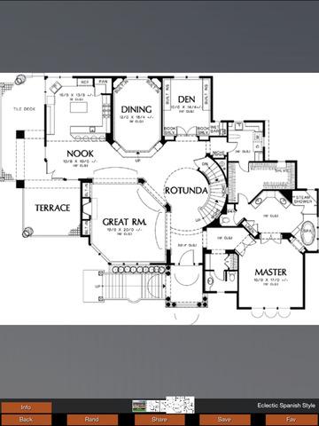 House Plans Mediterranean screenshot 10