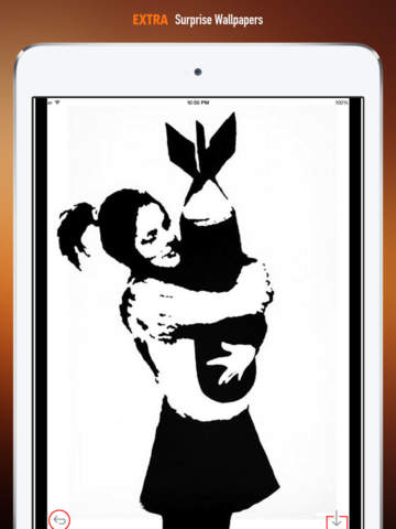 Banksy Artworks HD Wallpaper and His Inspirational Quotes Backgrounds Creator screenshot 8