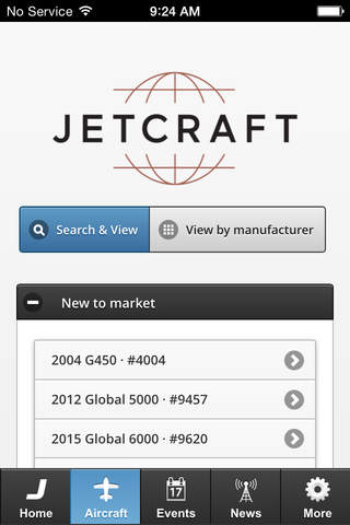 Jetcraft: Aircraft Sales & Acquisitions - náhled