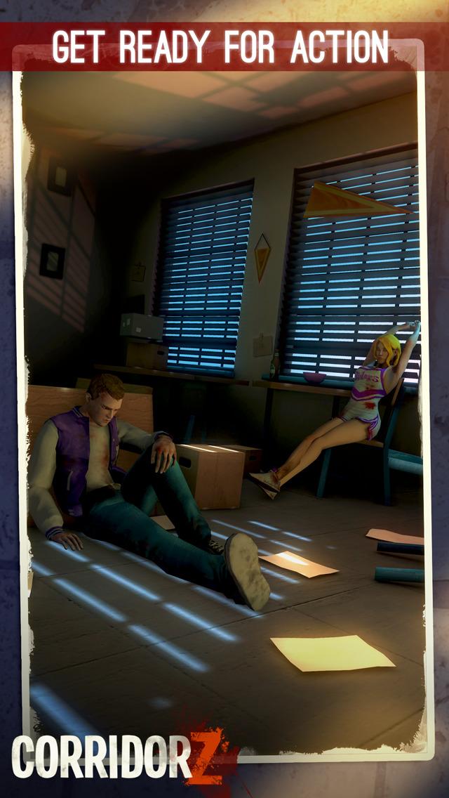 Corridor Z - Inverted Zombie Runner screenshot 2