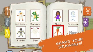 Draw a Stickman: Sketchbook screenshot 5