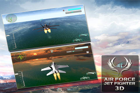 Air Force Jet Fighter 3D - War Plane Combat and At - náhled