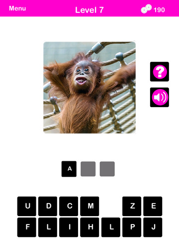 What's The Baby Animal? - The Cutest Animal Picture Word Trivia Game for EVERYONE! screenshot 8