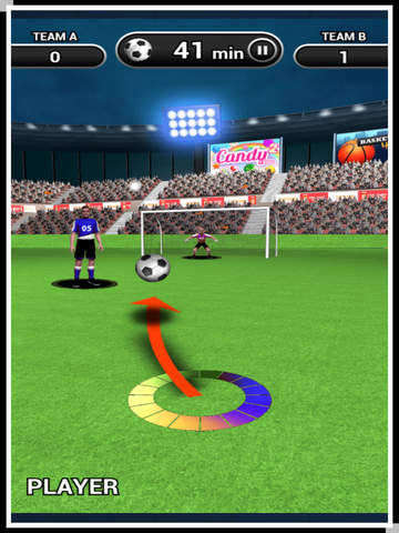 3D World Soccer Free Kick screenshot 8