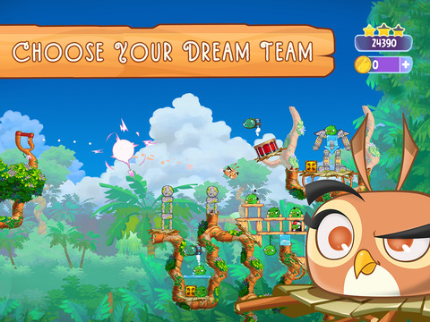 Angry Birds Slingshot Stella screenshot 9
