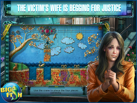 Reality Show: Fatal Shot HD - A Hidden Object Detective Game screenshot 2