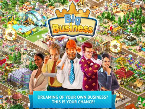 Big Business: Economic & Strategy Game screenshot 1