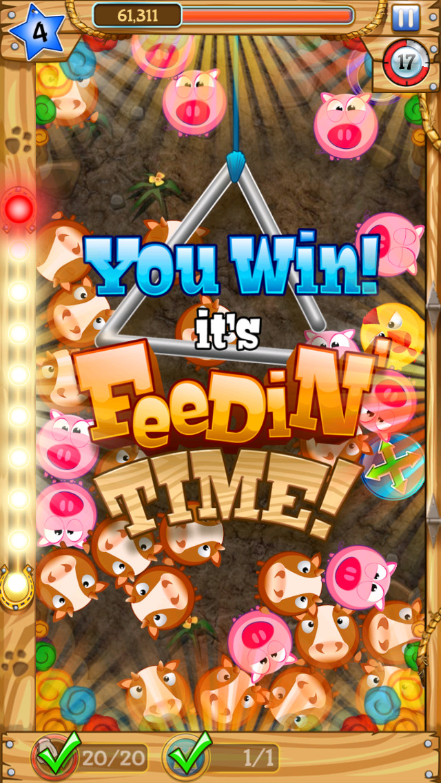 Pop Farm™ - Super New, Addictive Puzzle Game for the Whole Family screenshot 4