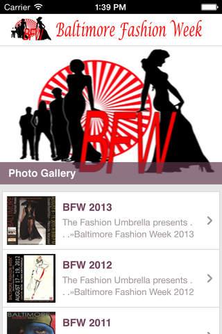 Baltimore Fashion Week - náhled