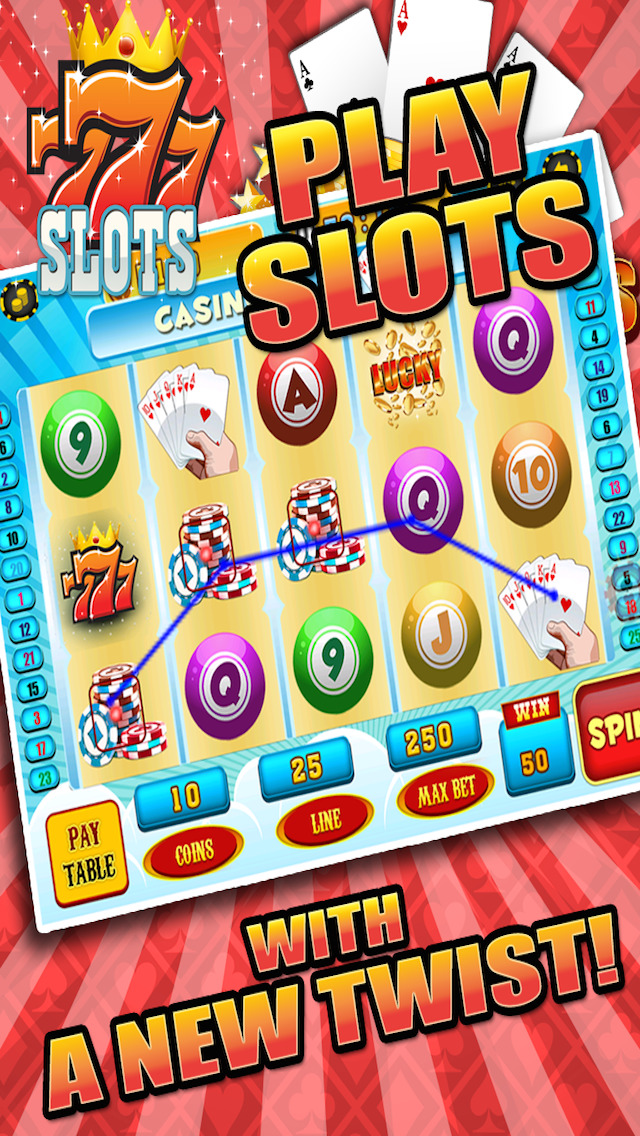 Aces Bingo Slots Casino - Crazy Fun Vegas-Style Super Bingo Slot Machine Game Free screenshot 5